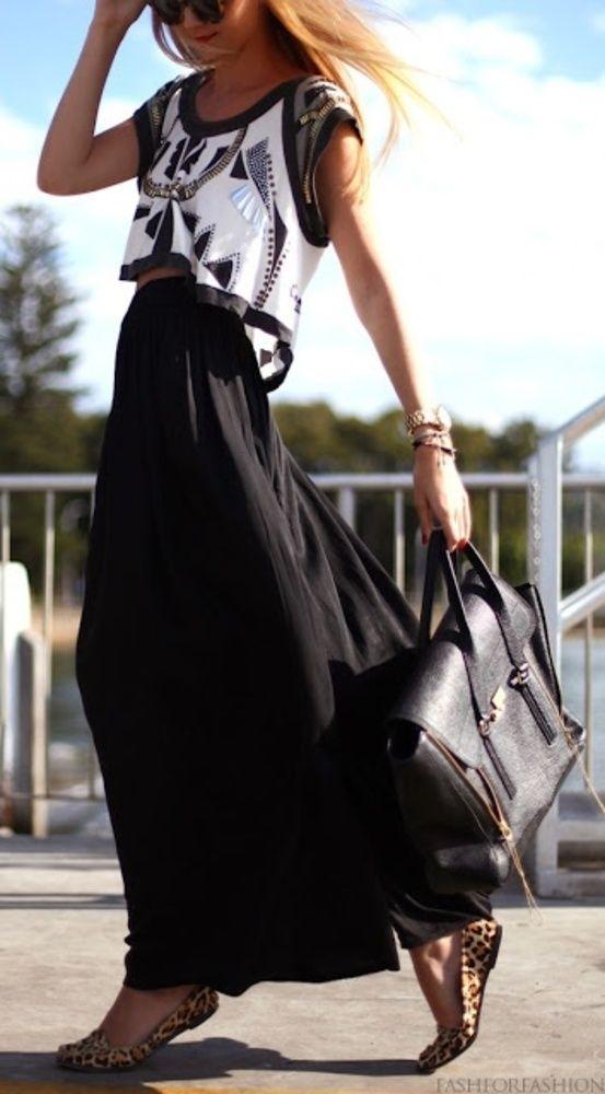 Οι maxi φούστες κυριαρχούν και στις φθινοπωρινές μας εμφανίσεις! Θα τίς τολμήσετε?
