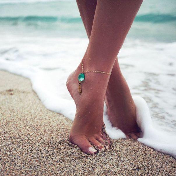Τα κοσμήματα ποδιών απαιτούν προσεγμένα άκρα!