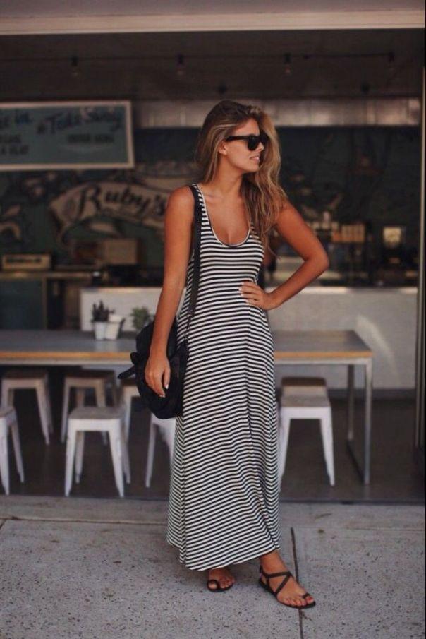 Ιδανικός συνδυασμός για το maxi φόρεμα σου είναι τα ιδιαίτερα άνετα flat σανδάλια!