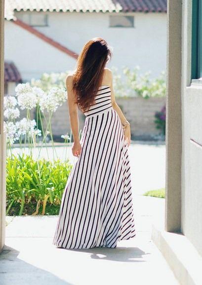 Τα maxi φορέματα είναι η απόλυτη τάση της μόδας φέτος το καλοκαίρι!