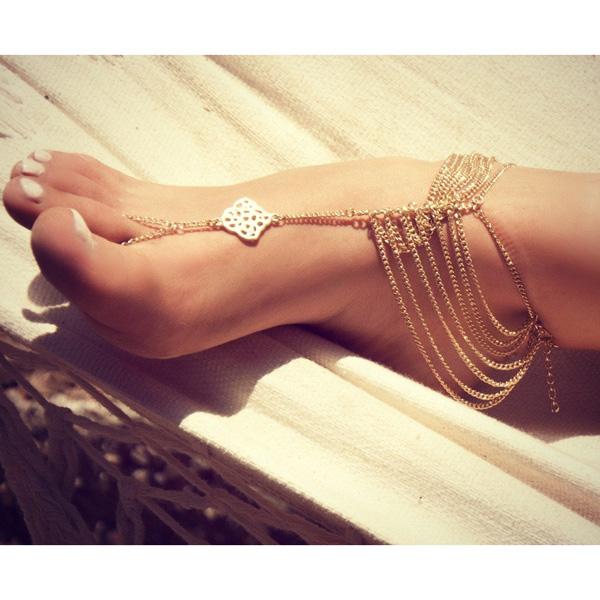Οι αλυσίδες ποδιών αναδεικνύουν ένα από τα πιο θηλυκά σημεία κάθε γυναίκας!