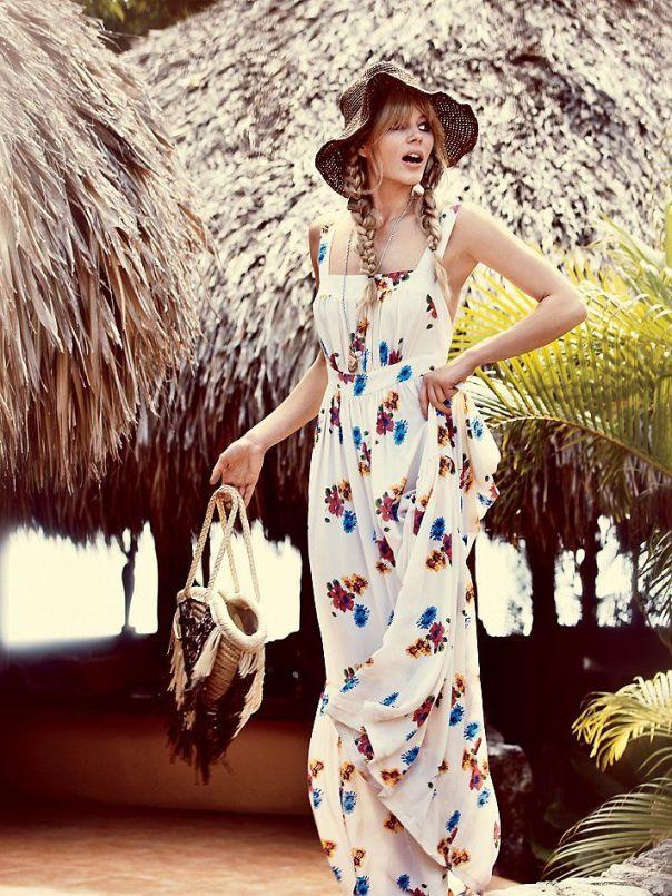 Τα maxi φορέματα κυριαρχούν στις καλοκαιρινές μας εμφανίσεις!