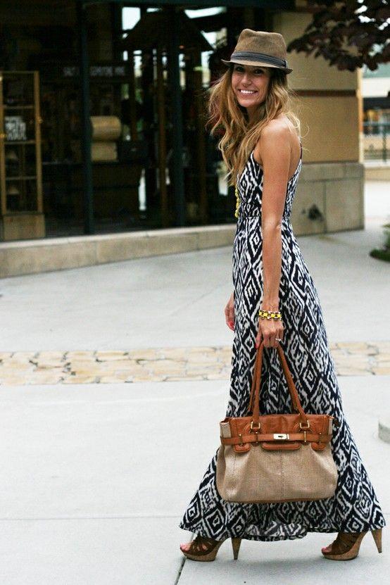 Maxi φόρεμα: Ιδανική επιλογή για φθινοπωρινά office looks!