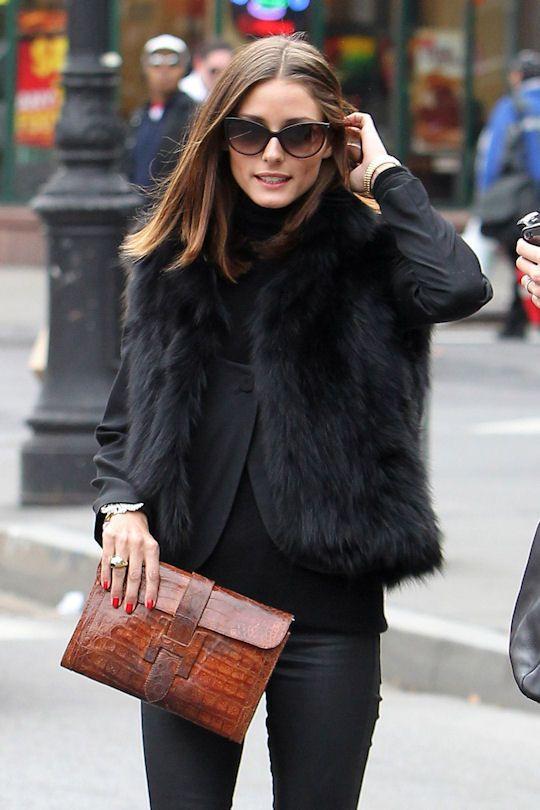 Η Alessandra Ambrosio είναι λάτρης των γούνινων γιλέκων!